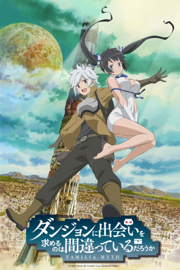 Is it wrong to pick up girls in a dungeon poster